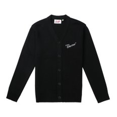 [FW19 Pink Panther] Cats Cardigan(Black)