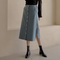 [엽페]WOOL LONG SKIRT_SKY BLUE