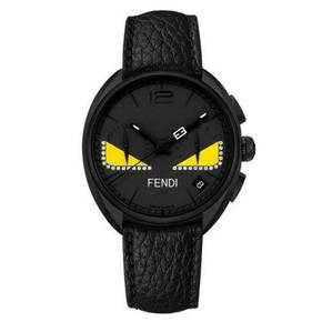 (면세정상가2,264,000원)[FENDI WATCH]Momento Fendi Bugs 40mm Black / F214611611D1(8월마감환율기준)