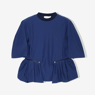 TOGA 토가 SATIN JERSEY TOP NAVY TA92-JK039-E