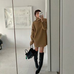 / mustbuy turtleneck minidress