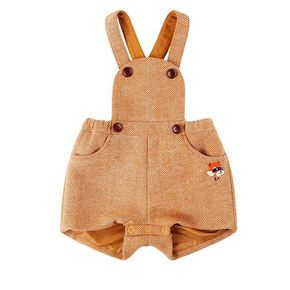 Lesser panda baby wool playsuit / BP8416131