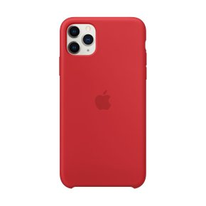 iPhone 11 Pro Max 실리콘 케이스 - (PRODUCT)RED(MWYV2FE/A)