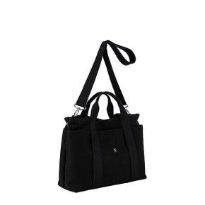 Stacey Daytrip Tote Canvas M Black(Black) (0JSJ5TT40201F)