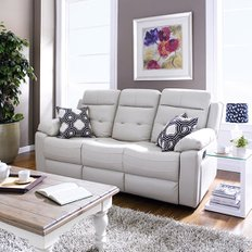 S-1915-3012 Leather Recliner Sofa 리클라이너 소파