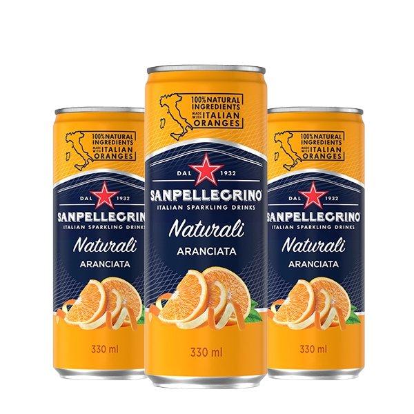 산펠레그리노 아란시아타오렌지 캔 S.pellegrino 330mlX24(can)