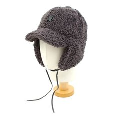 Thunder Gray Fleece Earflap Cap 귀달이모자