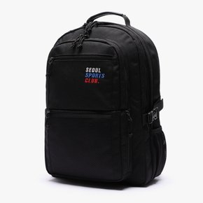 SSC SQUARE BACKPACK (BLACK)