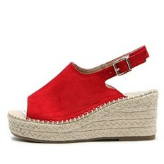 kami et muse Suede espadrille wedge sandals_KM19s284