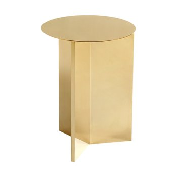 [주문 후 3개월 소요] Slit Table Round High Brass
