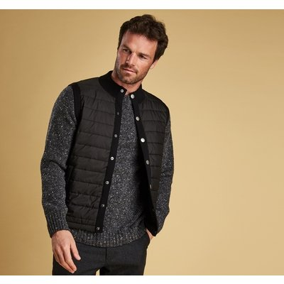 에센셜 니트 베스트 블랙 (Barbour Essential Gilet) BAI2MKN0920BK31