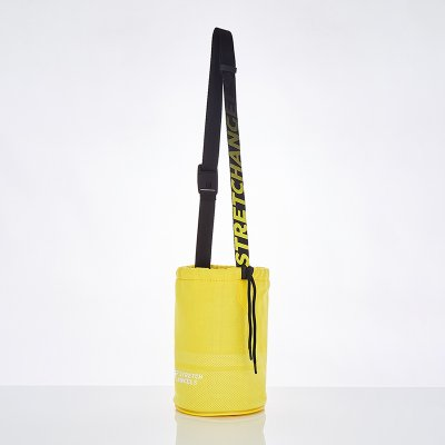 스트레치엔젤스[M.K.N] Star lover string knit body-bag (Yellow)
