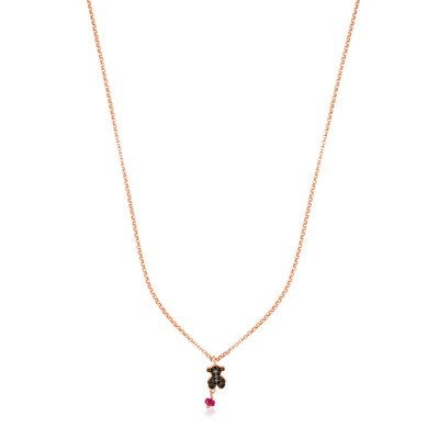 [최초출시가 139,000원]Rose Vermeil Silver Motif Necklace/목걸이/314932530
