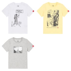 NKT7UI06 카툰 라운드 티 K'S CARTOON S/S R/TEE