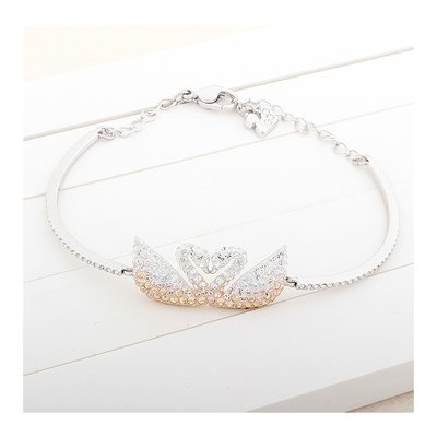 SWAROVSKI ICONIC SWAN:BANGLE DOUBLE M 5256264