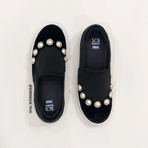 [파주점] Moonset unique slip-on(black)