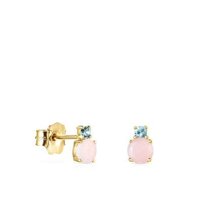[최초출시가 279,000원]18KT GOLD EARRINGS OPAL TOPAZ GEMSTONES/귀걸이/912193040