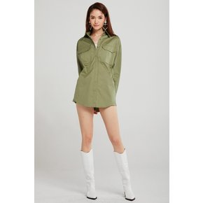 Giselle Oversized Cargo Shirt 오버사이즈 카고 셔츠
