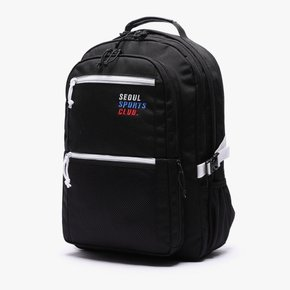 SSC SQUARE BACKPACK (BLACK WHITE)