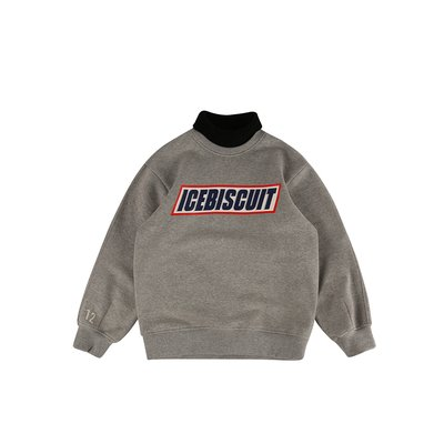 [20% SALE] Icebiscuit turtleneck sweatshirt (기모O)