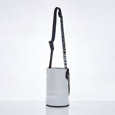 스트레치엔젤스[M.K.N] Star lover string knit body-bag (Silver)