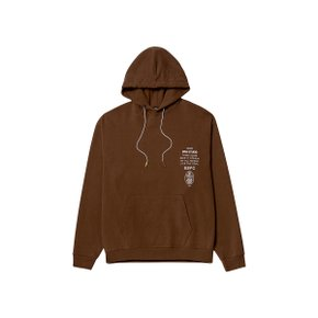 강민경착용 [골스튜디오] SSFC JERSEY HOODED SWEATSHIRT - BROWN