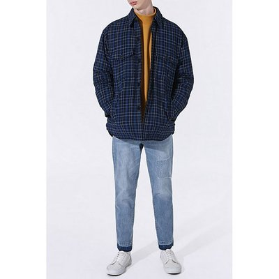 check quilting down jumper_CWUAS20171BUX