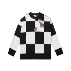 [FW19 T&J] Checkerboard Knit(Black)