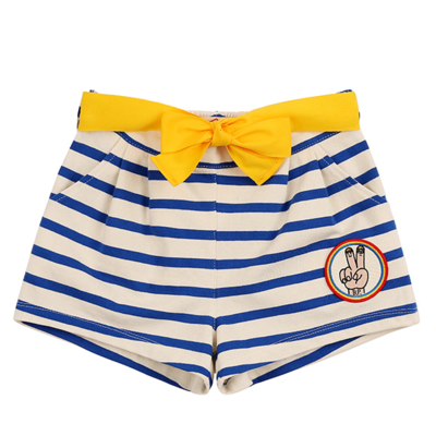 Victory wappen stripe ribbon shorts / BP8221420