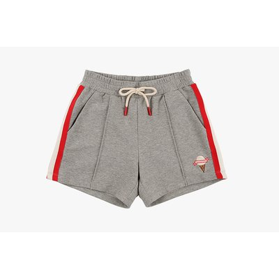 [40% SALE] Stripe rib point sweat shorts
