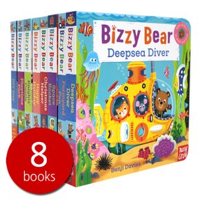 비지베어 Bizzy Bear Steady Seller 8 Books Set 2 조작북
