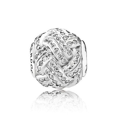 판도라 796086CZ FRIENDSHIP PANDORA ESSENCE CHARM