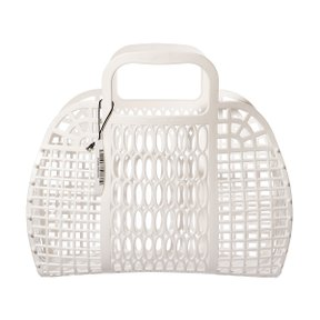 PLASTIC MARKET BAG L White