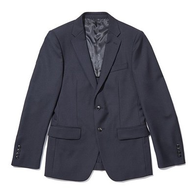 basic solid suit jacket_C9FBM18411BKX
