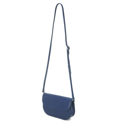 FENNEC TROIS BAGUETTE BAG - DUSTY BLUE