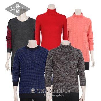 [오반장] 체이스컬트 남녀 라운드티/니트/셔츠 7천원균일가