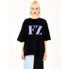 FZ BLACK OVERFITTED T-SHIRTS