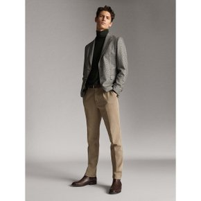 SLIM FIT FLOWING DARTED TROUSERS 00007107806