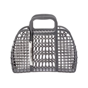 PLASTIC MARKET BAG S Gray