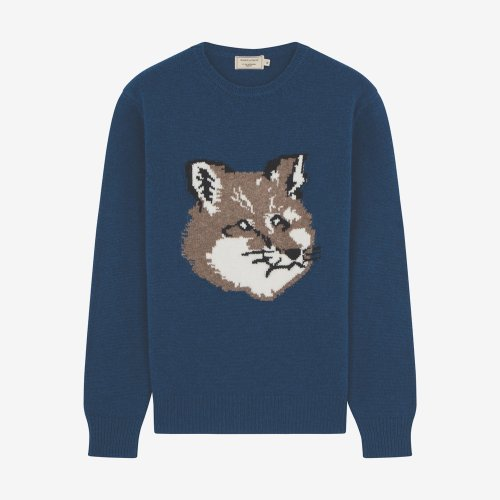 [PRE-ORDER] 19FW FOX HEAD PULLOVER PETROL MEN DM00516KT1016