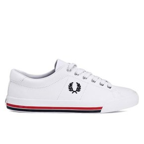 (PLATFORM) FredPerry 2020 S/S NEW STYLE  Hughes Low Canvas SFPU2018108 (760)