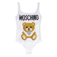 Moschino X The Sims one-piece swimsuit A42769176_1002