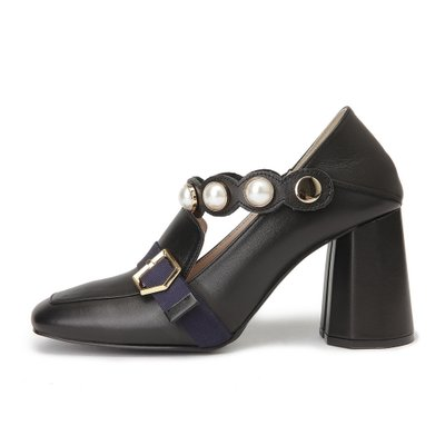 Royal middle pumps(black)_DG1BX18007BLK