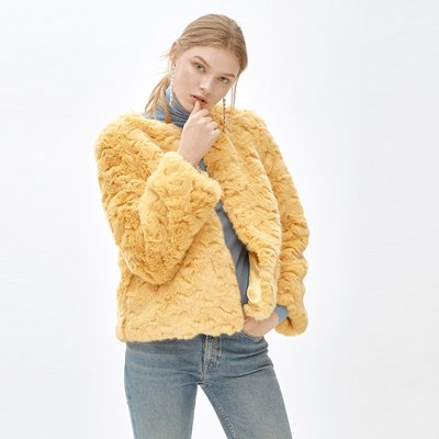 LIZ cocktail jacket_ yellow