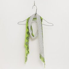 Silk Long Scarf - Two