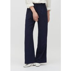 [19S/S][PLAC] WOMENS DOUBLE TUCK WIDE PANTS_NV (PWON2PTL74W0B7)