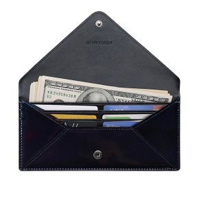 Easypass Amante Flat Wallet Long Mirror Black ( JSH1WT40904F)