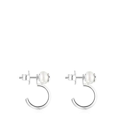 [최초출시가 119,000원]Icon Pearl earrings in silver and pearl/귀걸이/012573500