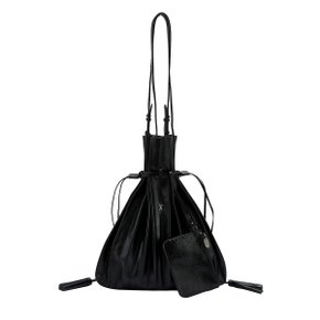 Lucky Pleats Shopper Cracked Black (JSH1SH40106F)