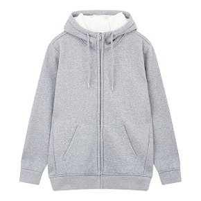 DESIGN UNITED 보아본딩 후드집업 MELLANGE GREY (S~XXL)
